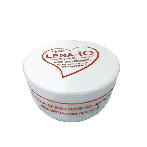 Kem trắng da mềm mịn Ngọc trai collagen Q28 Lena- IQ 300g