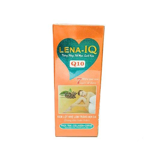 Kem lột nhẹ làm trắng mịn da toàn thân Q10 Lena-IQ 70ml