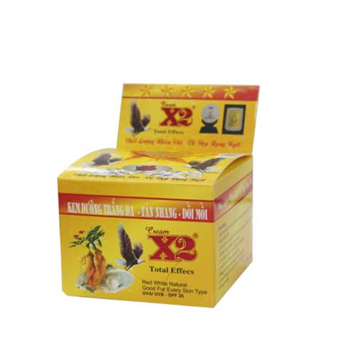 Kem dưỡng trắng da ngừa tàn nhang đồi mồi X2 15g