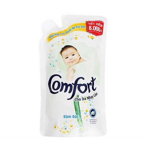 Nước xả vải Comfort cho da nhạy cảm 800ml