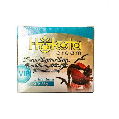 Kem ngừa nám tàn nhang đồi mồi lâu năm 5 tác dụng Hokota 30g