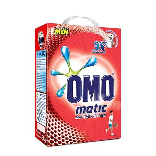 Bột giặt Omo Matic cửa trên 3 Kg