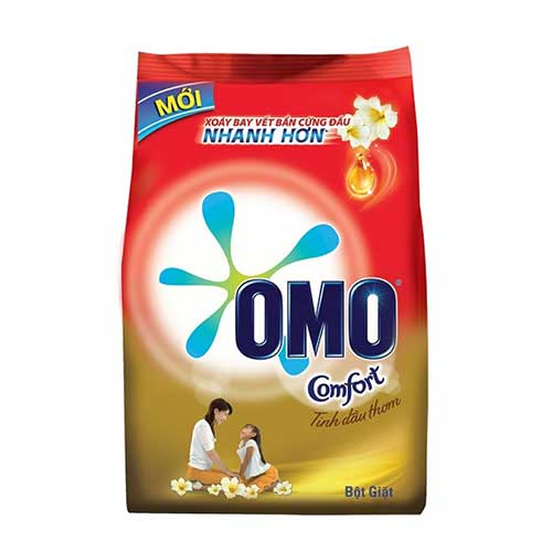 Bột giặt Omo tinh dầu thơm 5.5 Kg