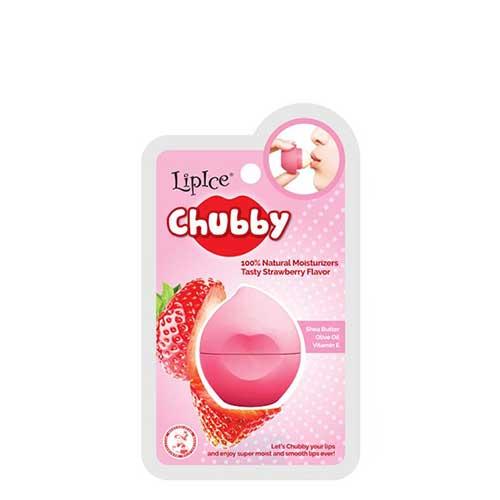 Son dưỡng LipIce Chubby Strawberry - Hương dâu 7g