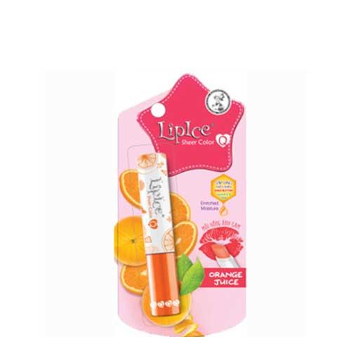 Son dưỡng có màu LipIce Sheer Color Orange Juice - Môi hồng ánh cam 2.4g