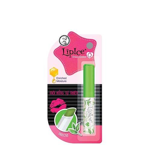 Son dưỡng màu LipIce Sheer Color Matcha - Môi hồng tự nhiên 2.4g
