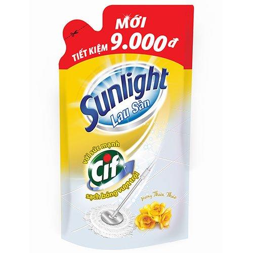 Nước Lau Sàn Sunlight  Hương Thiên Thảo Dạng Túi 1kg
