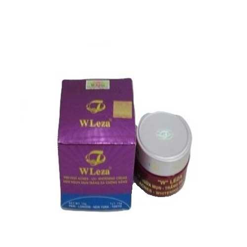 Kem ngừa mụn trắng da chống nắng  WLeza 15g