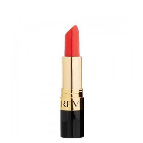 Son Revlon Super Lustrous Lipstick Pearl 029 Red Lacquer - Đỏ Cam 4.2g