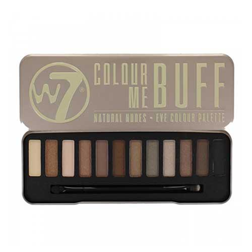 Phấn mắt 12 màu W7 Colour Me Buff  Natural Nudes 15.6g