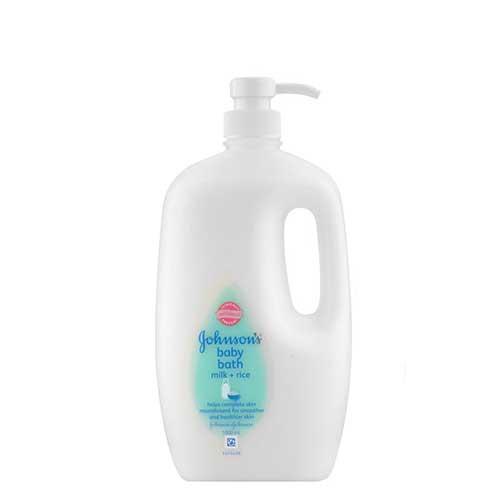 Sữa tắm Johnsons Baby Bath Milk and Rice 1000ml
