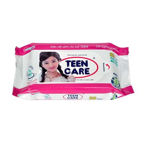 Khăn ướt Teen Care Romatic Perfume - 20 tờ