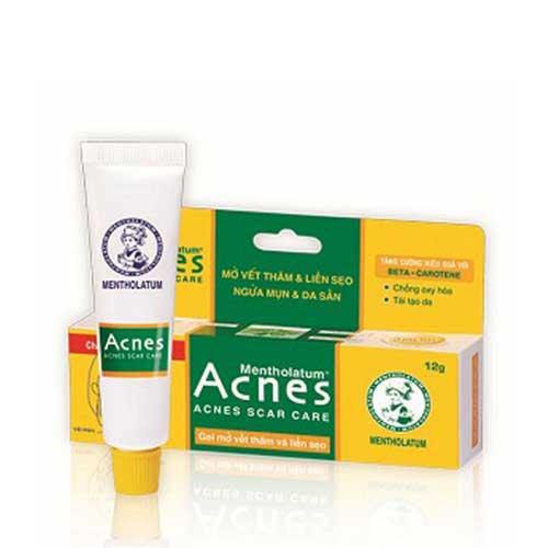 Gel mờ sẹo và vết thâm Acnes Scar Care 12g