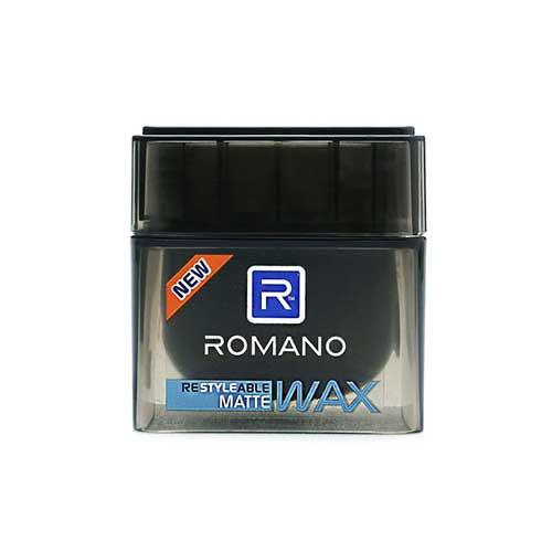 Sáp tạo kiểu tóc Giữ nếp tự nhiên Romano Restyleable Matte 68g