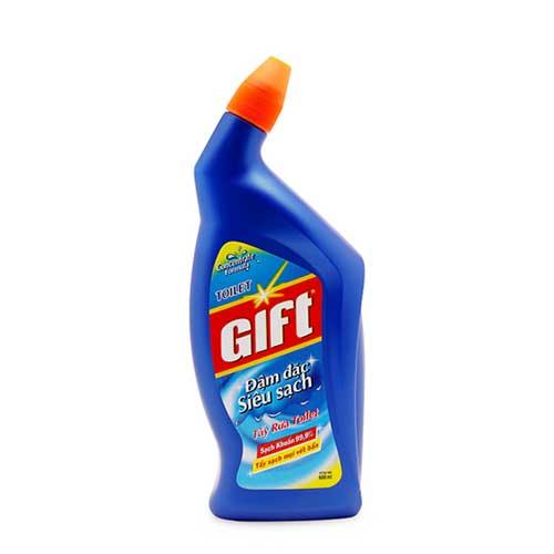 Nước tẩy rửa Toilet Gift đậm đặc siêu sạch  600ml