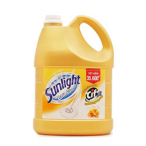 Nước lau sàn Sunlight hương Hoa Thiên Thảo 3.8 Kg