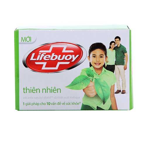 Xà bông cục Lifebuoy Diệt khuẩn Thiên Nhiên 90g