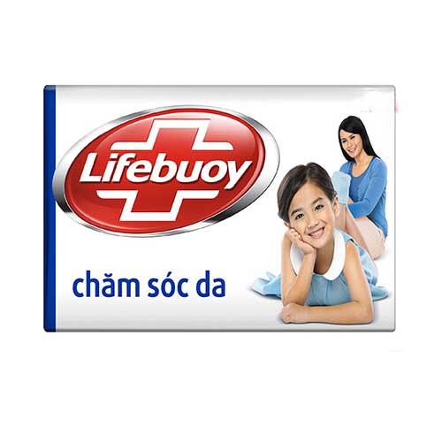 Xà bông cục Lifebuoy Diệt khuẩn Chăm sóc da  90g