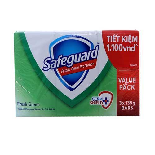Xà bông tắm diệt khuẩn Safeguard - Hương Nắng mai 135g