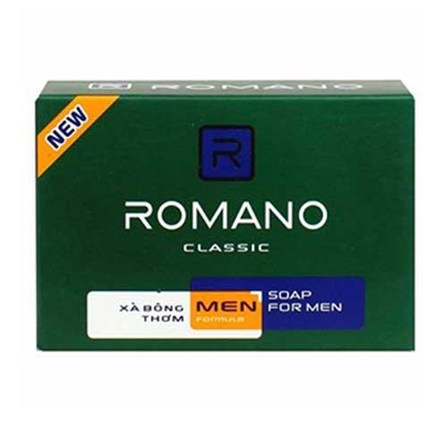 Xà bông nước hoa thơm Romano Classic 90g