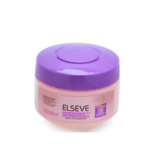 Kem ủ dưỡng tóc suôn mượt 72h Loreal Elseve Keratin Smooth 200ml