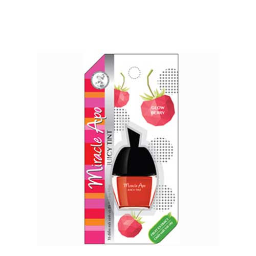 Son Mirracle Apo Juicy Tint Glow Berry - Hồng Cam 3.5g