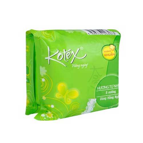 Băng vệ sinh Kotex kháng khuẩn hàng ngày