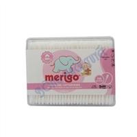 Tăm bông em bé Merigo 330 que ( Hộp tròn )