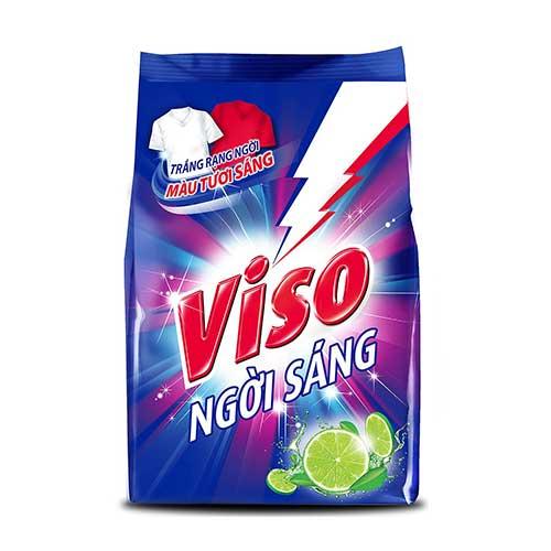 Bột giặt Viso Ngời sáng hương Chanh 3 Kg