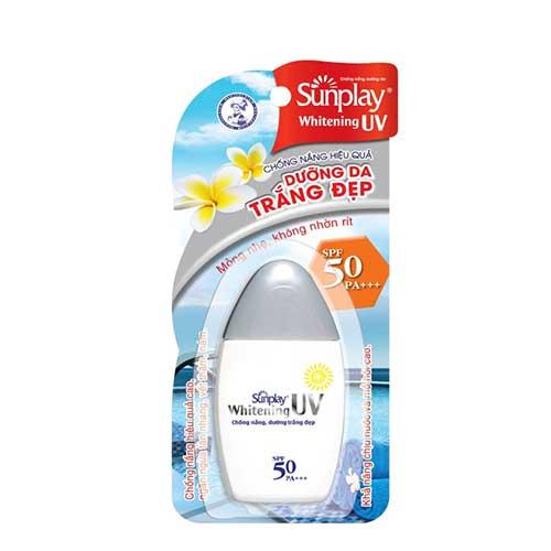 Kem chống nắng dưỡng trắng da Sunplay Whitening UV SPF50+