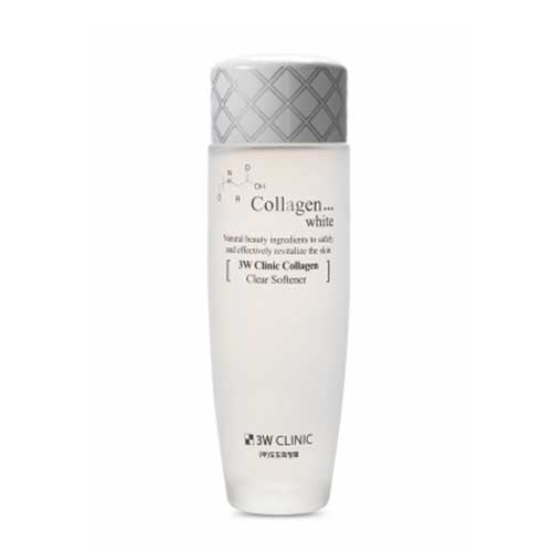 Nước hoa hồng 3W Clinic Collagen White