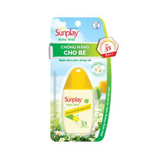 Kem chống nắng cho bé Sunplay Baby Mild SPF 35 30g