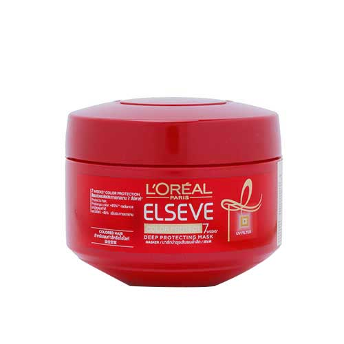 Kem ủ giữ màu tóc nhuộm L'oreal Paris Elseve Color Protect 7 200ml