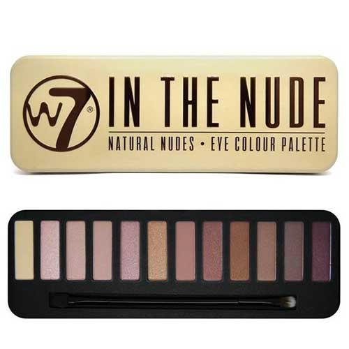 Phấn mắt 12 màu W7 Colour Me Nude Natural Nudes 15.6g