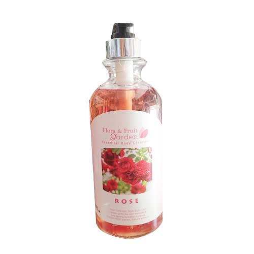 Sữa tắm hoa hồng Flora&Fruit Garden Essential Body Cleanser 750ml