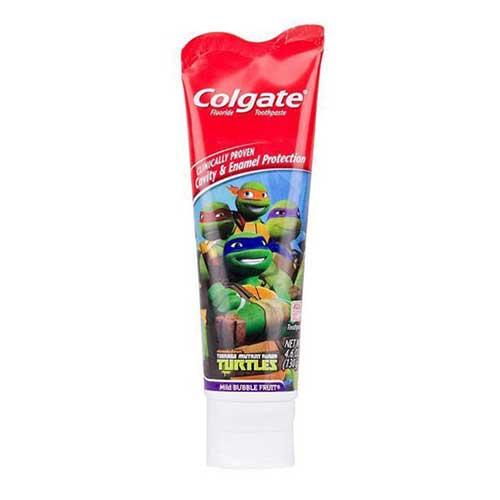 Kem đánh răng trẻ em Colgate Turtles 130g