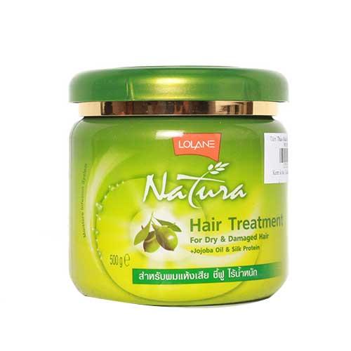 Kem ủ tóc tinh chất Olive Lolane Natura Hair Treatment 500g