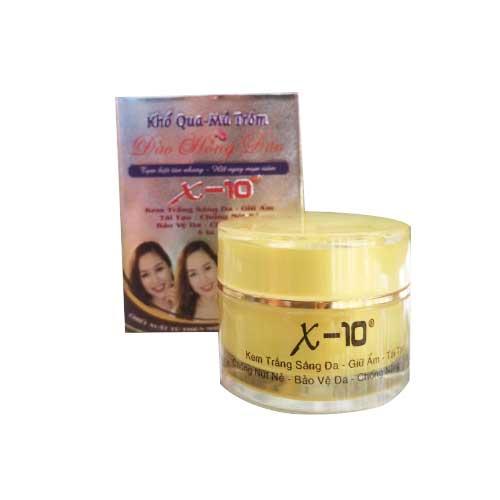 Kem trắng sáng da giữ ẩm tái tạo chống nứt nẻ bảo vệ da chống nắng 5in1 X10 18g