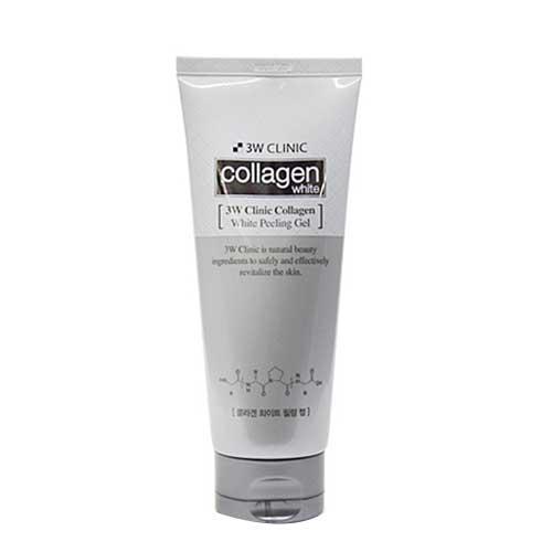 Gel tẩy tế bào chết  3W Clinic Collagen White Peeling 180ml