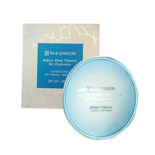Phấn nước trắng da kiểm soát dầu Ra &Gowoori Aqua One Touch BC Cushion SPF50+/PA+++ 21g