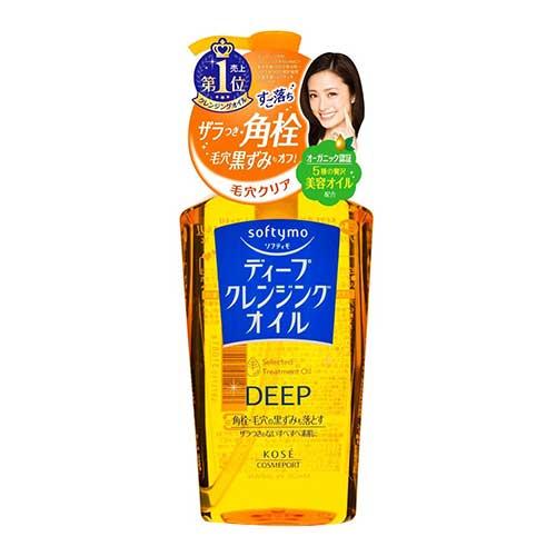 Dầu tẩy trang Kose Softymo Selected  Cleansing Oil 230ml - Dành cho trang điểm đậm