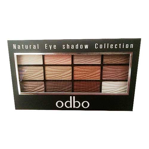 Phấn mắt 12 màu Odbo Natural Eye Shadow Collection 01
