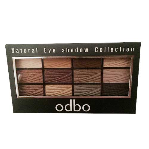 Phấn mắt 12 màu Odbo Natural Eye Shadow Collection 04