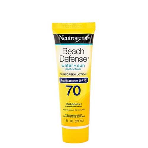 Kem chống nắng đi biển Neutrogena Beach Defense Water Sun Protection Sunscreen SPF70 29ml