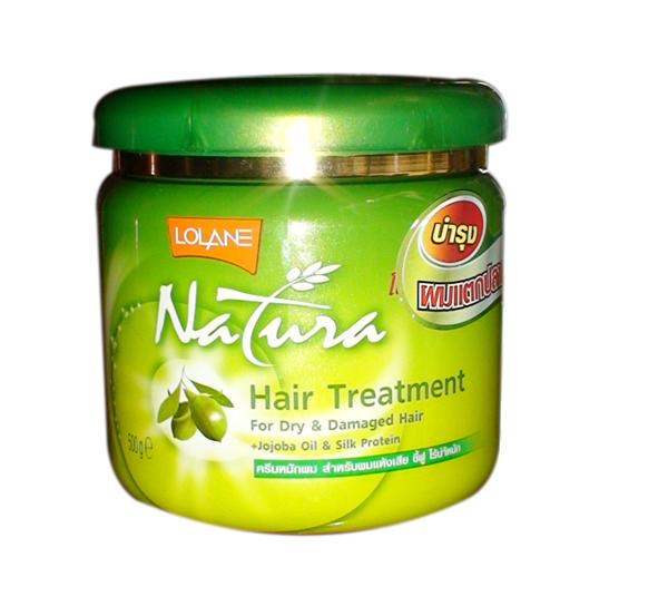 Kem Ủ tóc lạnh Lolane Natura Jojoba oil 250ml