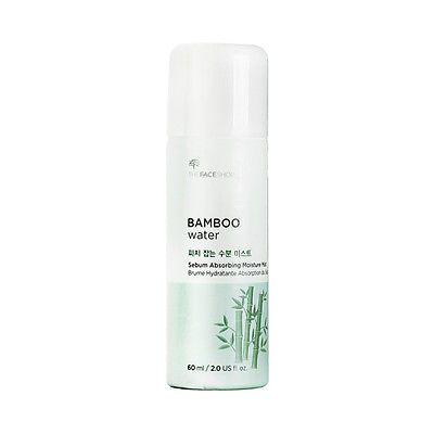 Xịt khoáng Bamboo Water Sebum Absorbing Moisture Mist