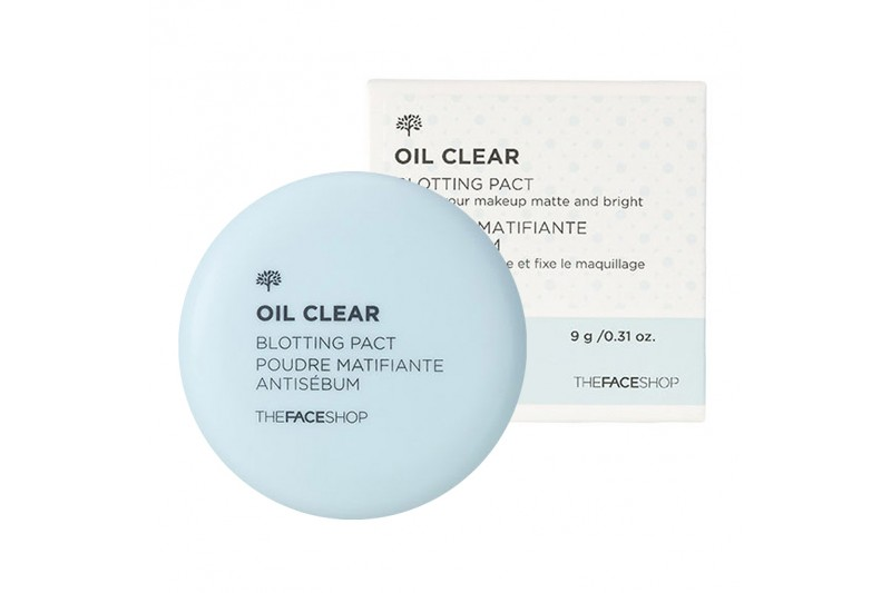 Phấn Phủ Kiềm dầu Oil Clear Blotting Pact The Faceshop