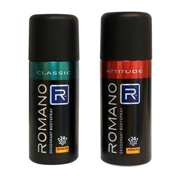 Xịt khử mùi toàn thân Romano