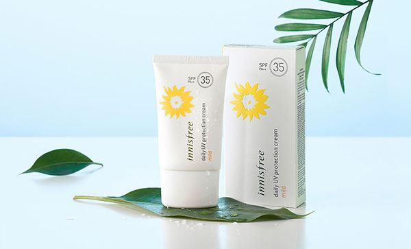 Kem Chống Nắng Innisfree Daily UV Protection Cream Mild SPF35PA++ 50ml