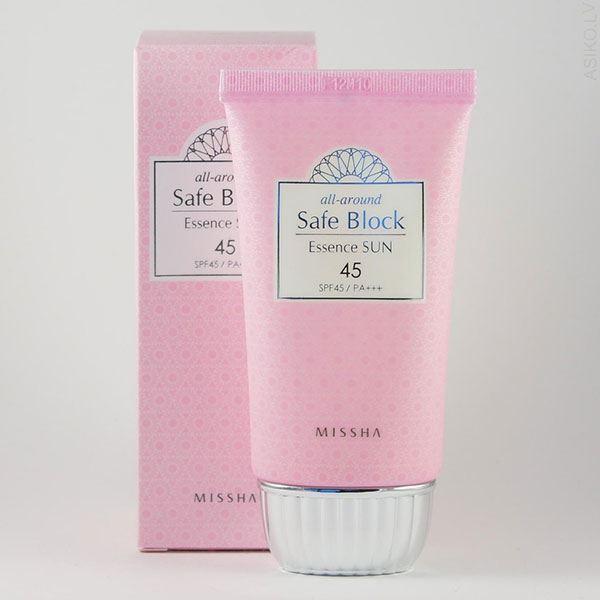 Kem Chống Nắng Missha Safe Block Essence SunSPF 50+/PA+++